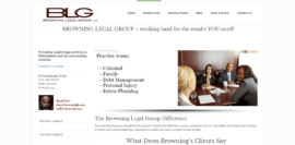 Browning Legal Group   Philadelphia   Montgomery County   Lawyer